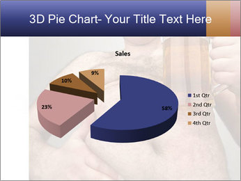 Man with glass of beer PowerPoint Template - Slide 35