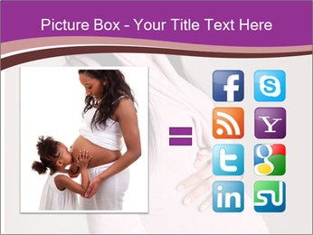 Beautiful pregnant woman PowerPoint Templates - Slide 21