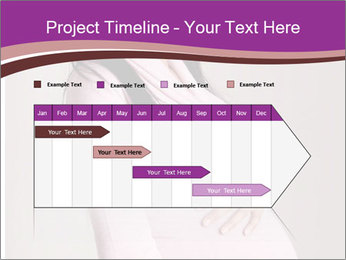 Beautiful pregnant woman PowerPoint Templates - Slide 25
