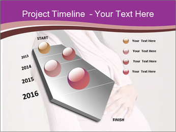 Beautiful pregnant woman PowerPoint Templates - Slide 26
