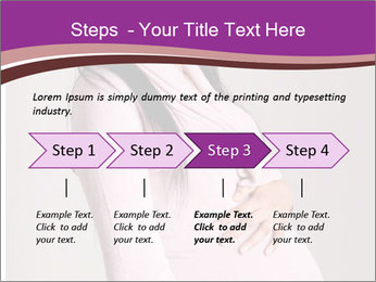 Beautiful pregnant woman PowerPoint Templates - Slide 4