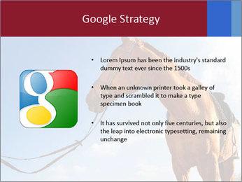 Saddled Horse PowerPoint Template - Slide 10