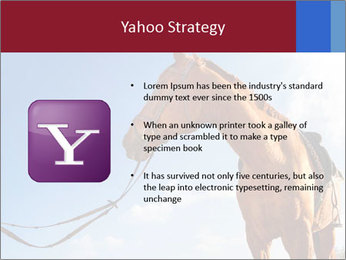 Saddled Horse PowerPoint Template - Slide 11