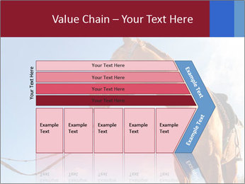 Saddled Horse PowerPoint Template - Slide 27