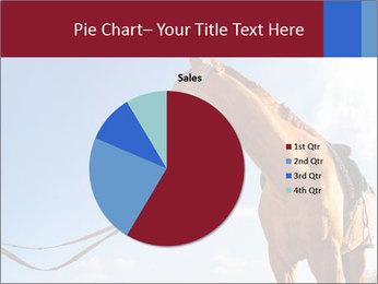 Saddled Horse PowerPoint Template - Slide 36