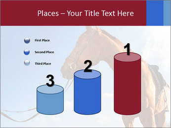 Saddled Horse PowerPoint Template - Slide 65