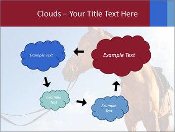 Saddled Horse PowerPoint Template - Slide 72