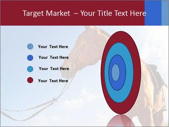Saddled Horse PowerPoint Template - Slide 84