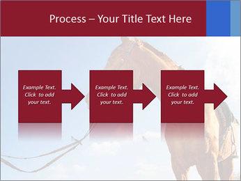 Saddled Horse PowerPoint Template - Slide 88
