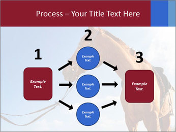 Saddled Horse PowerPoint Template - Slide 92