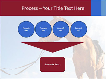 Saddled Horse PowerPoint Template - Slide 93