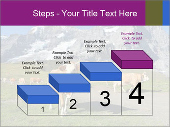 Сows in Alps PowerPoint Templates - Slide 64