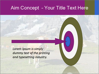 Сows in Alps PowerPoint Templates - Slide 83