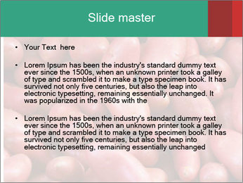 Red potatoes PowerPoint Template - Slide 2