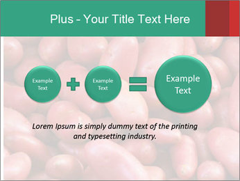 Red potatoes PowerPoint Template - Slide 75