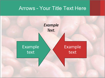 Red potatoes PowerPoint Template - Slide 90