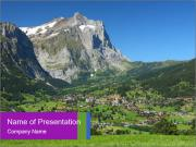 Switzerland PowerPoint Templates