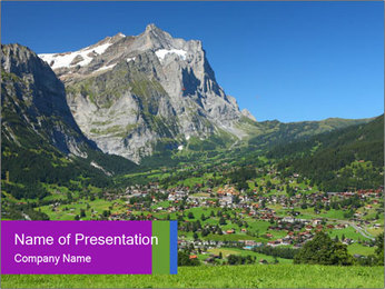 Switzerland PowerPoint Template - Slide 1