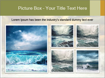 View of storm seascape PowerPoint Template - Slide 19