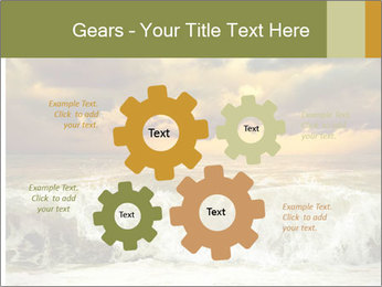 View of storm seascape PowerPoint Template - Slide 47