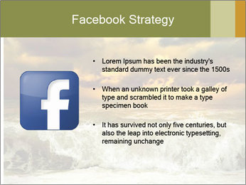 View of storm seascape PowerPoint Template - Slide 6