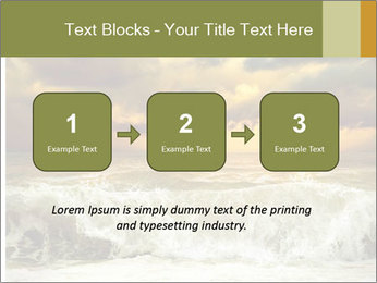 View of storm seascape PowerPoint Template - Slide 71