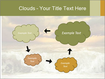 View of storm seascape PowerPoint Template - Slide 72