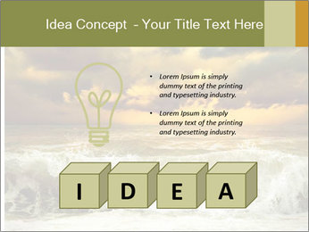 View of storm seascape PowerPoint Template - Slide 80