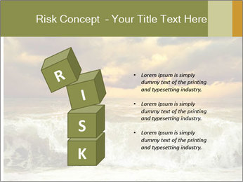 View of storm seascape PowerPoint Template - Slide 81