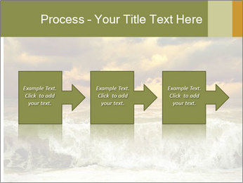 View of storm seascape PowerPoint Template - Slide 88