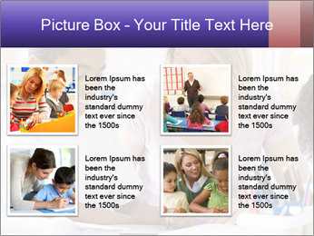 Student in class PowerPoint Template - Slide 14