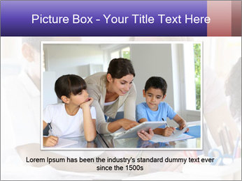 Student in class PowerPoint Template - Slide 15