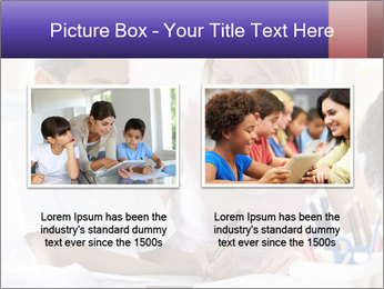 Student in class PowerPoint Template - Slide 18