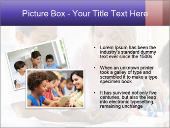 Student in class PowerPoint Template - Slide 20
