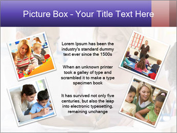 Student in class PowerPoint Template - Slide 24