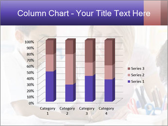 Student in class PowerPoint Template - Slide 50