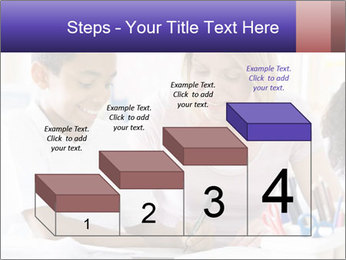 Student in class PowerPoint Template - Slide 64