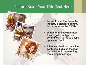 Hands painting a beautiful woman PowerPoint Templates - Slide 17