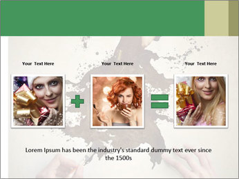 Hands painting a beautiful woman PowerPoint Templates - Slide 22