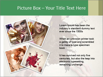 Hands painting a beautiful woman PowerPoint Templates - Slide 23
