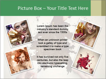 Hands painting a beautiful woman PowerPoint Templates - Slide 24