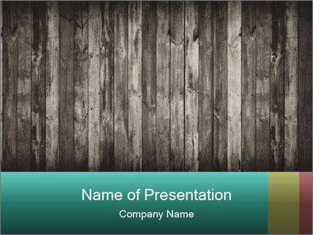 Dark wood PowerPoint Templates