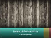 Dark wood PowerPoint Templates