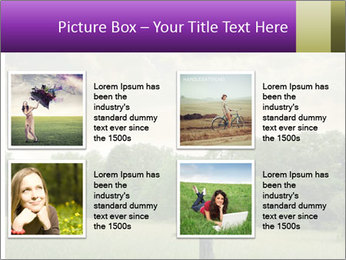 Open arms PowerPoint Template - Slide 14