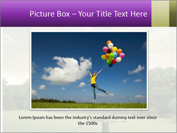 Open arms PowerPoint Template - Slide 16