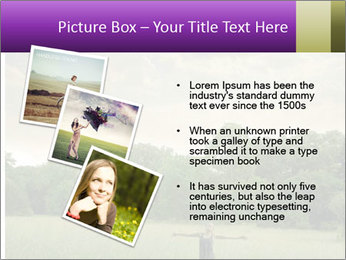 Open arms PowerPoint Template - Slide 17