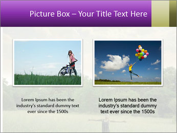 Open arms PowerPoint Template - Slide 18