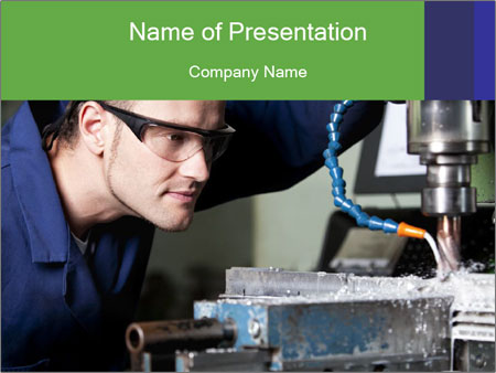 In workshop. PowerPoint Template