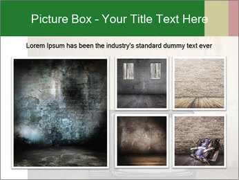 Television in room PowerPoint Templates - Slide 19