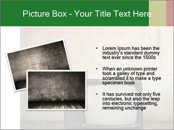 Television in room PowerPoint Templates - Slide 20